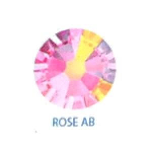 Стразы Swarovski цветные Rose AB SS5, 100шт