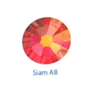 Стразы Swarovski цветные Siam AB SS5, 100шт