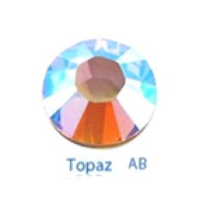 Стразы Swarovski цветные Topaz AB SS5, 100шт