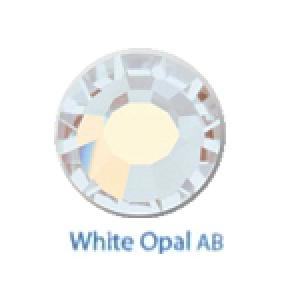 Стразы Swarovski цветные White Opal AB SS5, 100шт