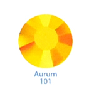 Стразы Swarovski цветные Aurum SS3, 100 шт