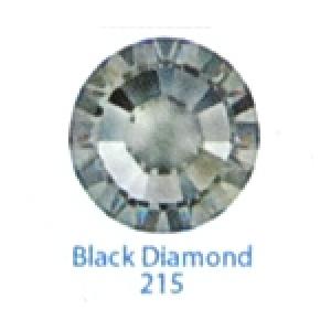 Стразы Swarovski цветные Black Diamond SS5, 100 шт