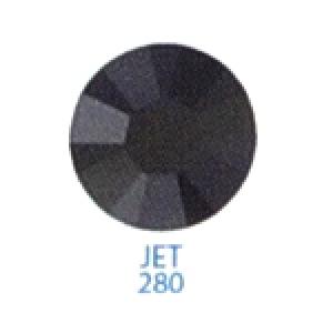 Стразы Swarovski цветные Jet SS5, 100 шт