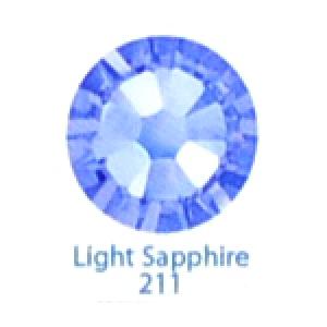 Стразы Swarovski цветные Light Sapphire SS5, 100 шт