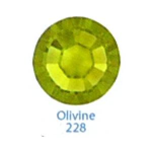 Стразы Swarovski цветные Olivine SS5, 100 шт