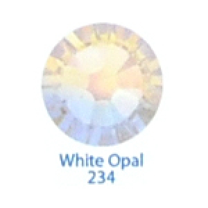 Стразы Swarovski цветные White Opal SS5, 100 шт