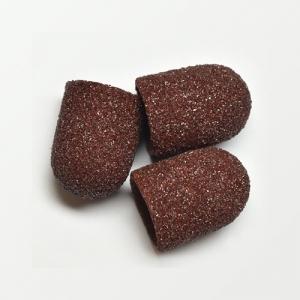 Песочные колпачки д. 10 коричневые грубые шт