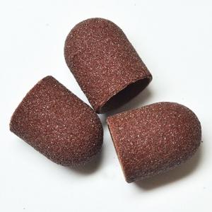 Песочные колпачки д. 13 коричневые средние  шт
