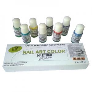 Набор красок Premium Nail Art Water Series (8*15 мл)
