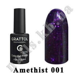 001 - Grattol  Amethyst, 9ml