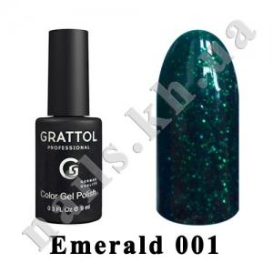 001 - Grattol  Emerald, 9ml