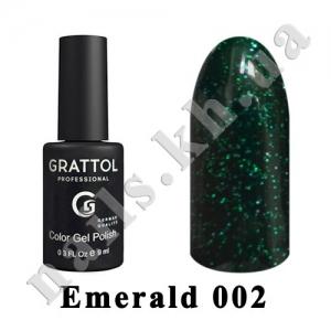 002 - Grattol  Emerald, 9ml