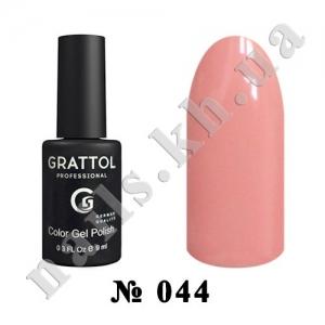 044 - Grattol Color Gel Polish  Light Pink, 9ml