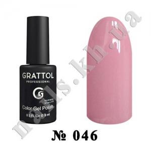 046 - Grattol Color Gel Polish  Antique Rose, 9ml