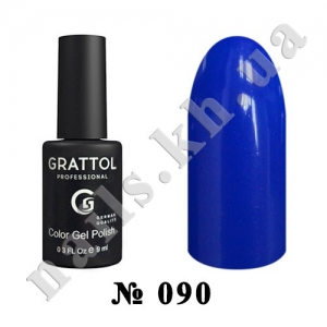 090 - Grattol Color Gel Polish  Ultramarine, 9ml