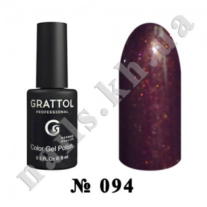 094 - Grattol Color Gel Polish  Umber Faery, 9ml