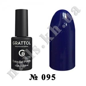 095 - Grattol Color Gel Polish  Dark Ultramarine, 9ml
