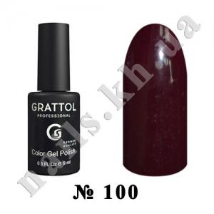 100 - Grattol Color Gel Polish  Merlot, 9ml