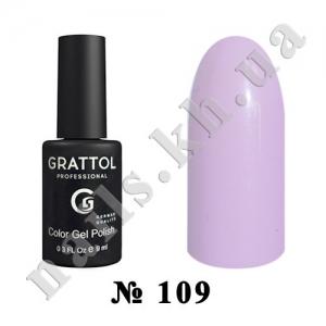 109 - Grattol Color Gel Polish  Lily Fogs, 9ml