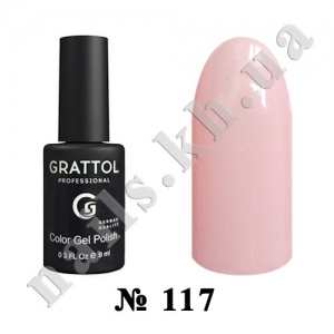 117 - Grattol Color Gel Polish  Cream, 9ml