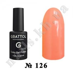 126 - Grattol Color Gel Polish  Peach Juice, 9ml