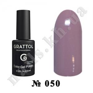 050 - Grattol Color Gel Polish  Pink Beige, 9ml