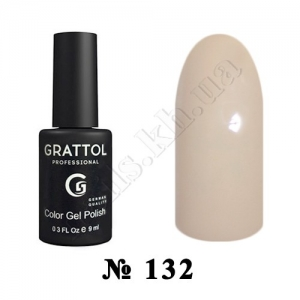 132 - Grattol Color Gel Polish  Coffe Milk, 9ml