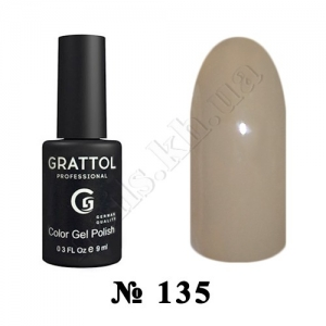 -135 - Grattol Color Gel Polish  Iced, 9ml