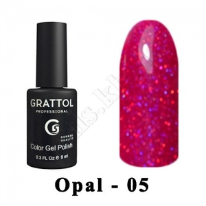 005 - Grattol Color Gel Polish OS  Opal, 9ml