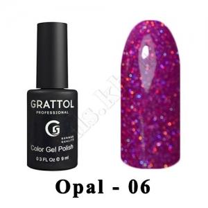 006 - Grattol Color Gel Polish OS  Opal, 9ml