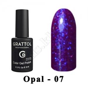 007 - Grattol Color Gel Polish OS  Opal, 9ml