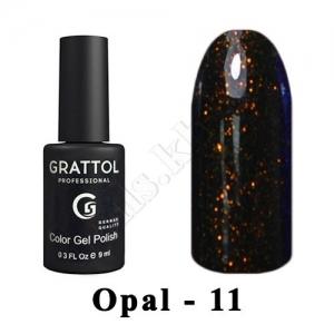 011 - Grattol Color Gel Polish OS  Opal, 9ml