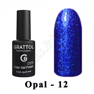 012 - Grattol Color Gel Polish OS  Opal, 9ml
