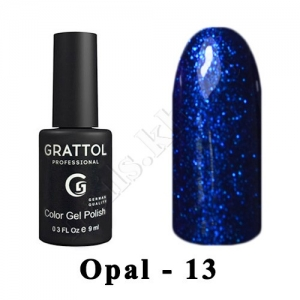 013 - Grattol Color Gel Polish OS  Opal, 9ml