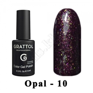 010 - Grattol Color Gel Polish OS  Opal, 9ml