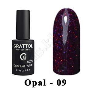 009 - Grattol Color Gel Polish OS  Opal, 9ml