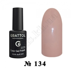 134 - Grattol Color Gel Polish  Frappe, 9ml