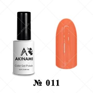 011 - Akinami Color Gel Polish - Coral, 9ml