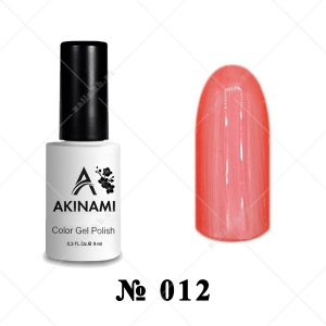 013 - Akinami Color Gel Polish - Safflower, 9ml