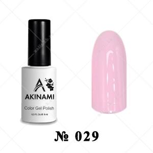 029 - Akinami Color Gel Polish - Rose Quartz, 9ml