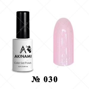 030 - Akinami Color Gel Polish - Quartz Pearl, 9ml