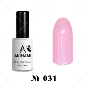 031 - Akinami Color Gel Polish - Rose Pearl, 9ml