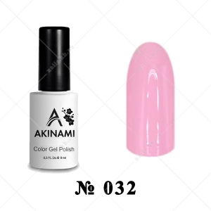 032 - Akinami Color Gel Polish - Ballet Pink, 9ml