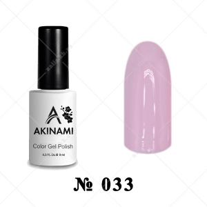 033 - Akinami Color Gel Polish - Rose Smoke, 9ml