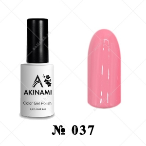 037 - Akinami Color Gel Polish - Pink Tulip, 9ml