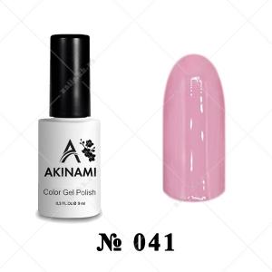 041 - Akinami Color Gel Polish - Dusty Rose, 9ml