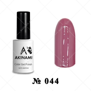 044 - Akinami Color Gel Polish - Grape, 9ml