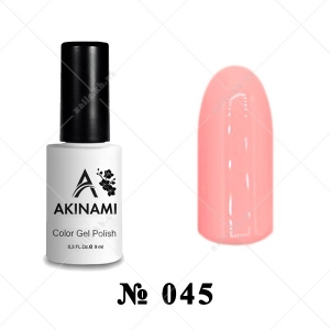 045 - Akinami Color Gel Polish - Pink Sunrise, 9ml