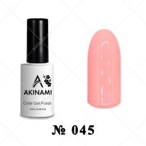 045 - Akinami Color Gel Polish - Pink Sunrise, 9ml