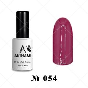 054 - Akinami Color Gel Polish - Sangria, 9ml